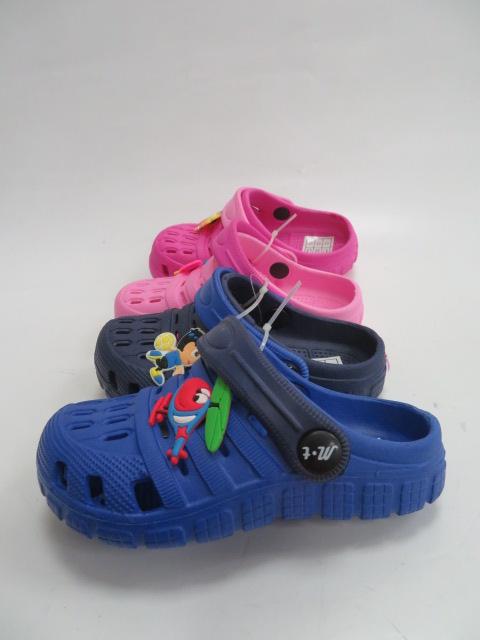 Klapki Dziecięce T106-1, Mix 4 color, 24-29