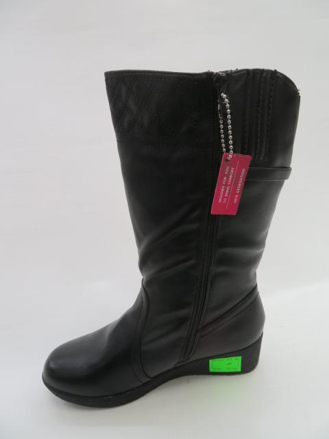 Botki Damskie 88330-73, Black, 36-41