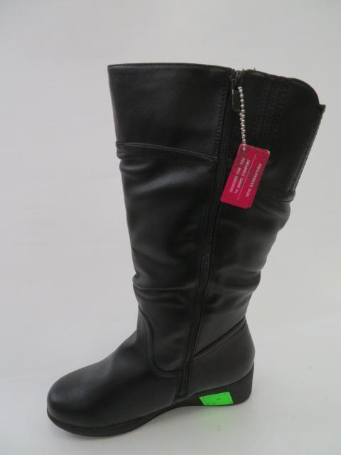 Botki Damskie 88330-92, Black, 36-41