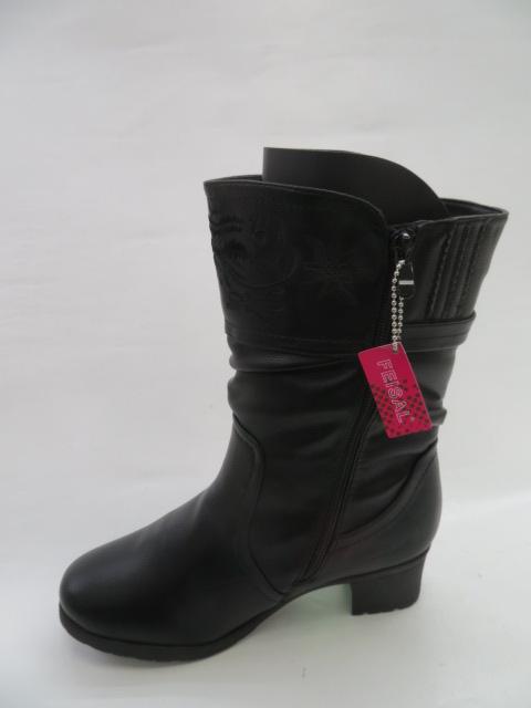 Botki Damskie 881-10, Black, 39-43