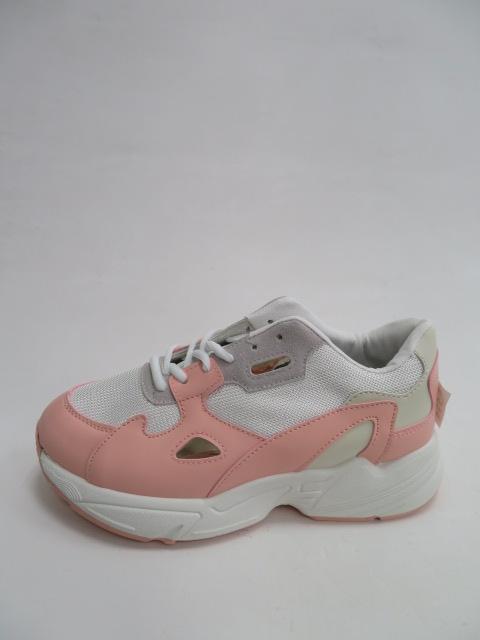 Sportowe Damskie R-02, White/Pink, 36-41