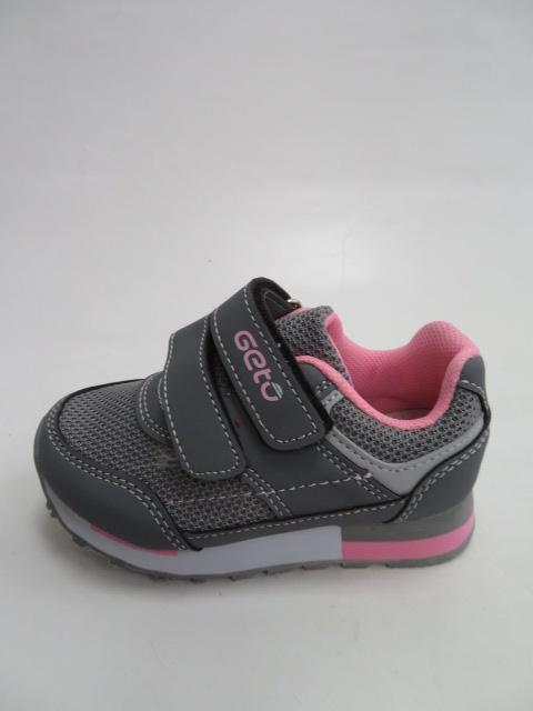 Buty Sportowe Dziecięce F667, Green/Pink, 21-26