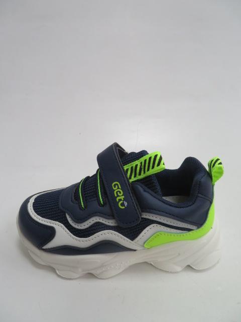 Buty Sportowe Dziecięce F755, Navy/Green, 21-26