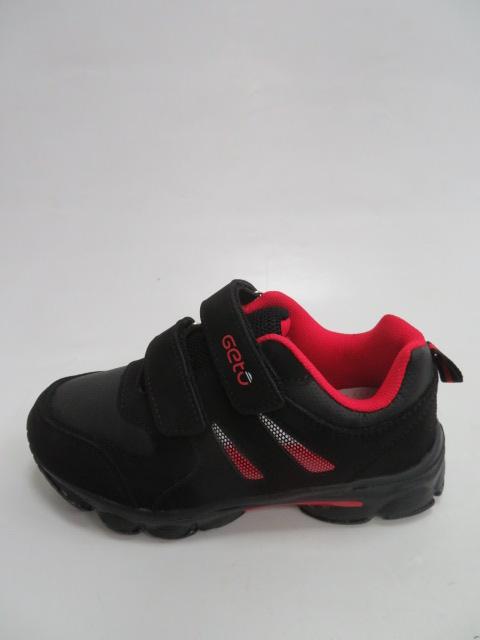 Buty Sportowe Dziecięce F732, Black/Red,  27-32