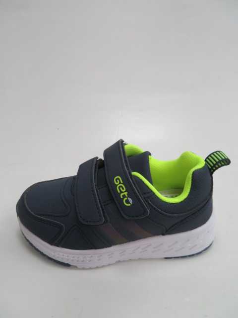 Buty Sportowe Dziecięce F727, Blue/Green, 21-26