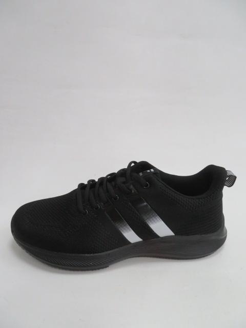 Buty Sportowe Męskie T2028, Black/White, 41-46