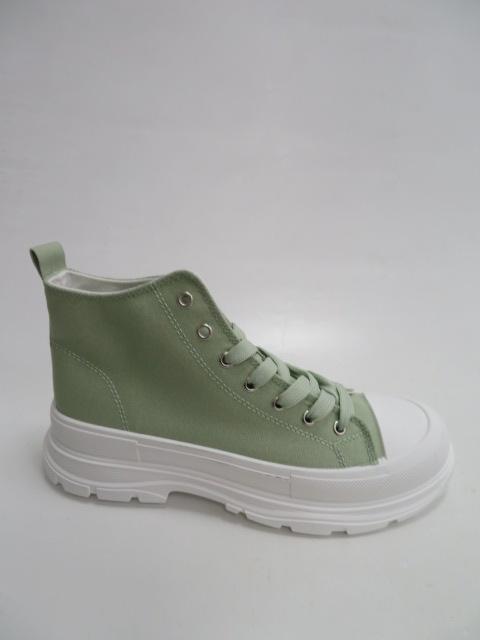 Botki Damskie F037, Green, 36-41