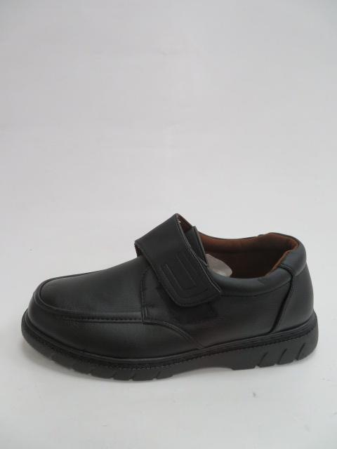 Półbuty Męskie A9C01, Black, 40-46