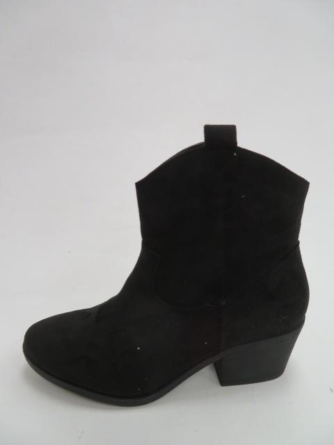 Botki Damskie M071-1, Black, 36-41