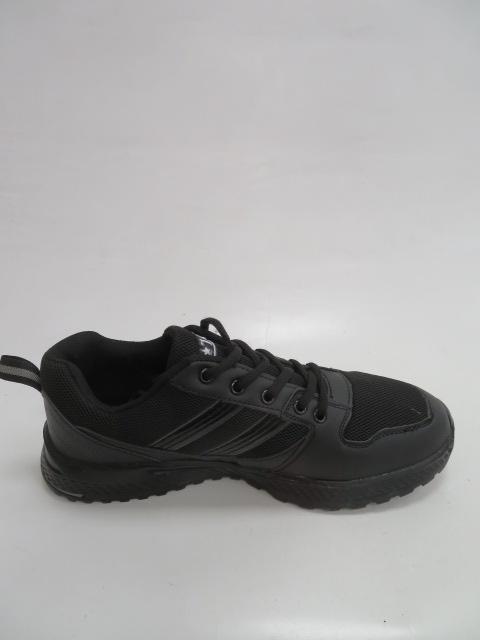 Buty Sportowe Męskie 201-1, Black/Grey, 41-46