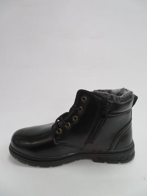Trzewiki Męskie Zimowe 0701A-1, Black, 41-46