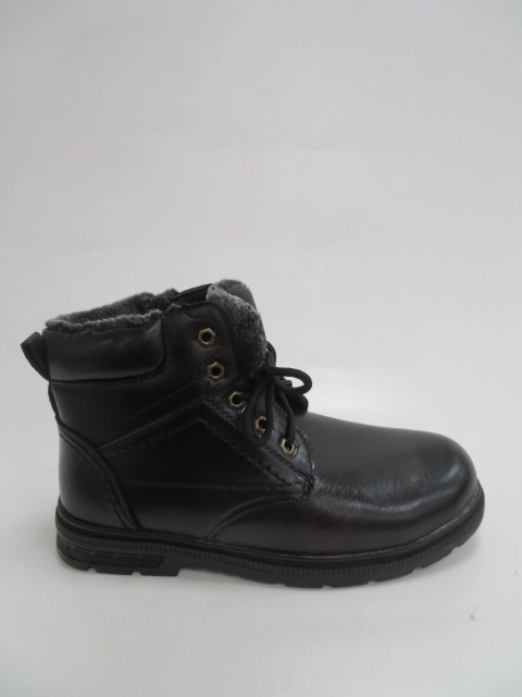 Trzewiki Męskie Zimowe 0702A-1, Black, 40-46