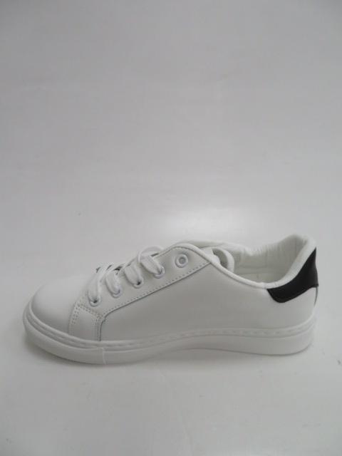 Sportowe Damskie LA132, White/Black, 36-41