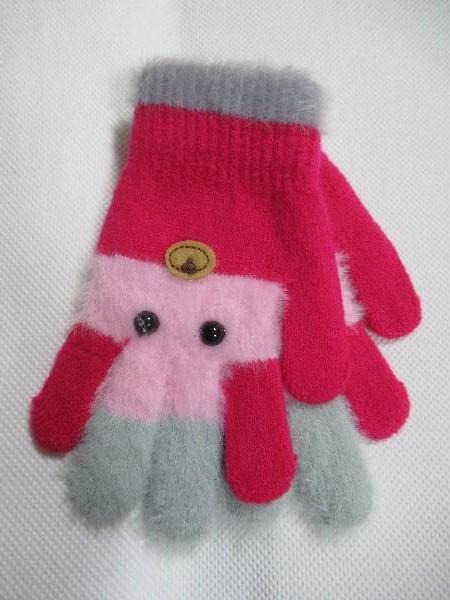 Rękawiczki Dziecięce D185 MIX KOLOR 13CM