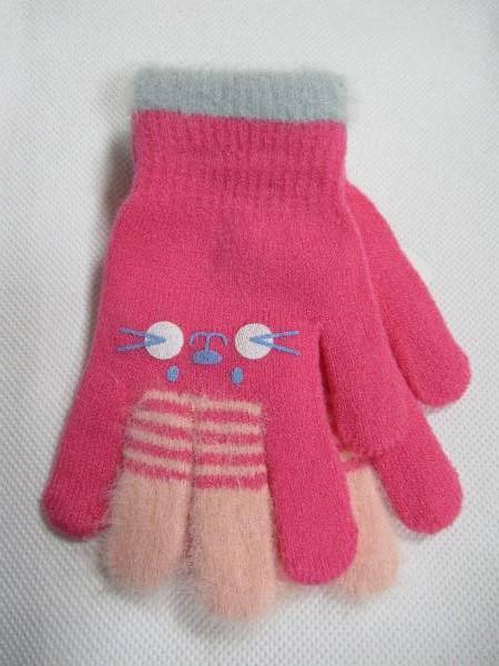 Rękawiczki Dziecięce D186 MIX KOLOR 14CM