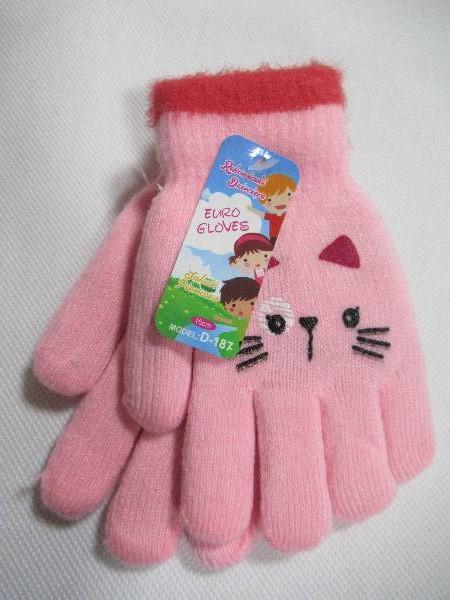Rękawiczki Dziecięce D187 MIX KOLOR 15CM