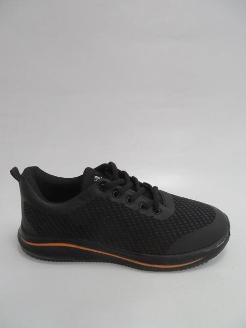 Buty Sportowe Męskie 2019-2, Black/Orange, 41-46