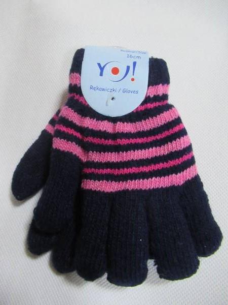 Rękawiczki Dziecięce R214A  MIX KOLOR 17CM