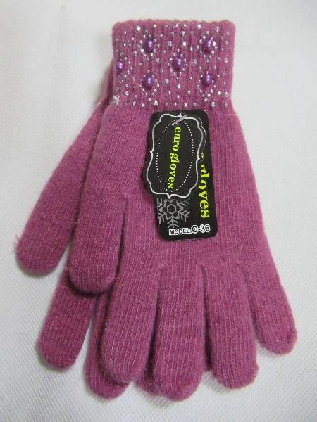 Rękawiczki Dziecięce C36 MIX KOLOR STANDARD