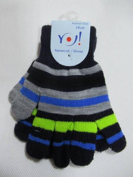 Rękawiczki Dziecięce R035-16 MIX KOLOR 14CM