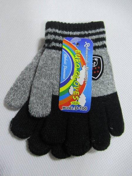 Rękawiczki Dziecięce D100 MIX KOLOR 12CM