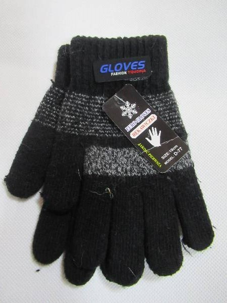 Rękawiczki Dziecięce D77 MIX KOLOR 19CM