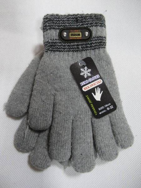 Rękawiczki Dziecięce B32 MIX KOLOR 18CM