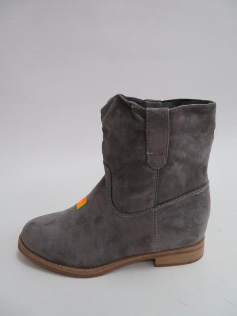 Botki Damskie NC952, Grey, 36-40
