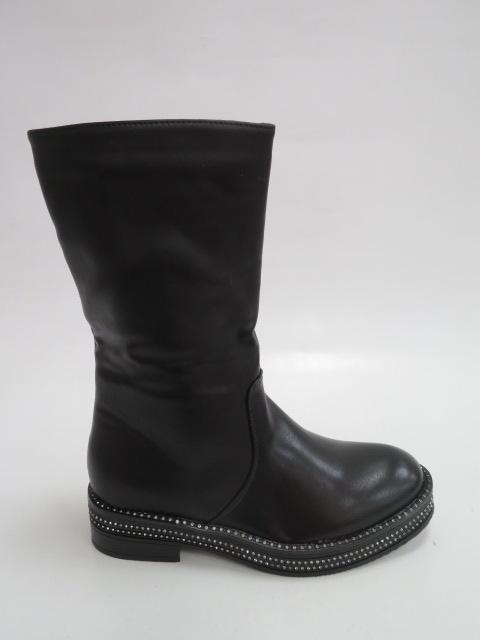 Botki Damskie QH-0258, Black, 36-40