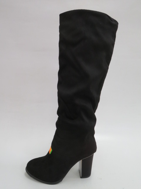 Kozaki Damskie 1103-GG, Black, 36-40