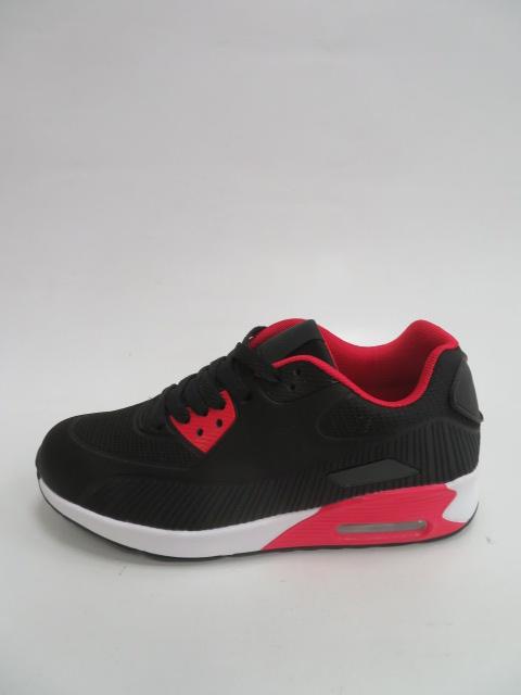Sportowe Damskie D11-15, Black/Red, 36-41