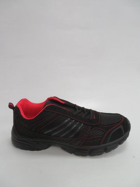 Buty Sportowe Męskie F053, Black/Red, 42-47
