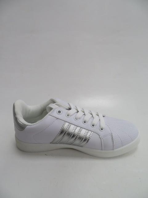 Sportowe Damskie DS9-319, White/Silver, 36-41
