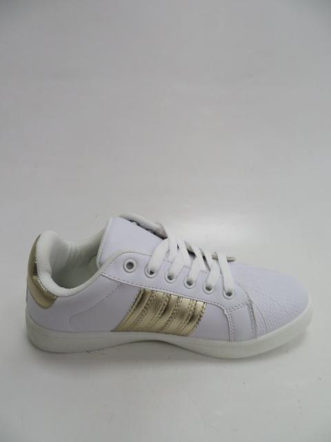 Sportowe Damskie DS9-316, White/Gold, 36-41