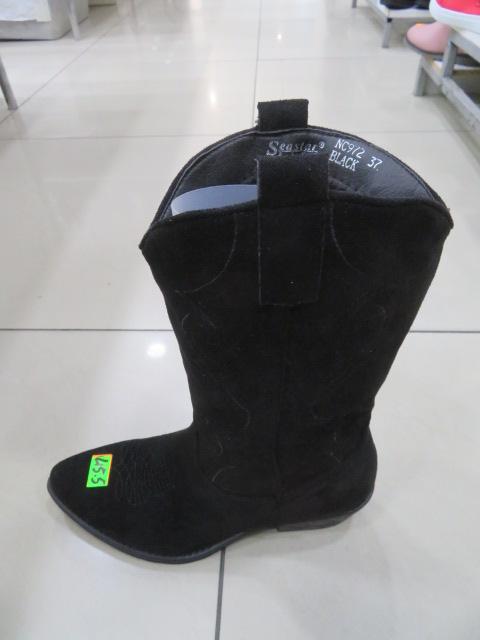 Botki Damskie NC972, Black, 36-41