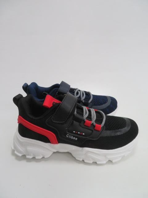 Buty Sportowe Dziecięce F989, Black/Blue,31-36