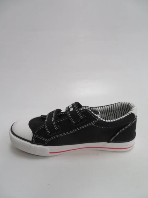 Półbuty Dziecięce B289, Black/Red, 25-30