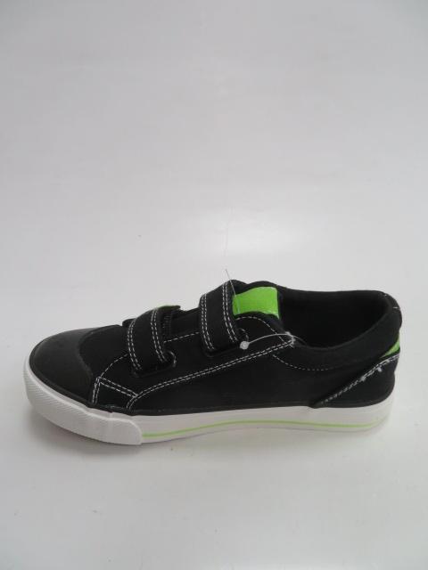 Półbuty Dziecięce B290, Black/Green, 31-36