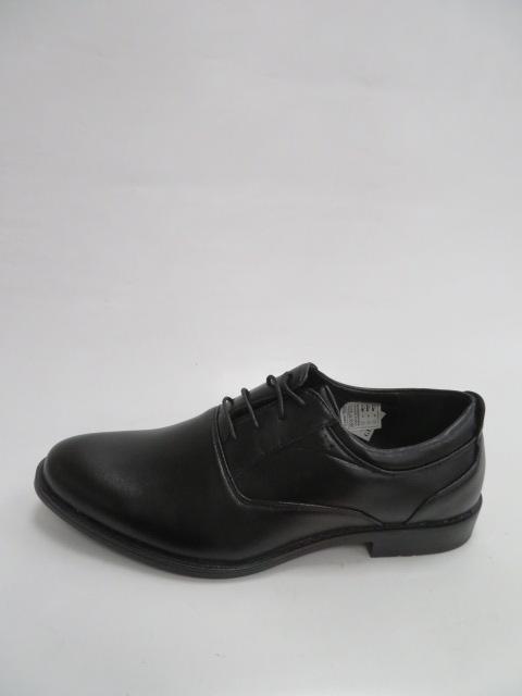 Półbuty Męskie ZC1005, Black, 40-45