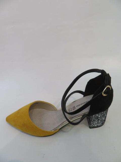 Czółenka Damskie FL-1001,Yellow, 36-40
