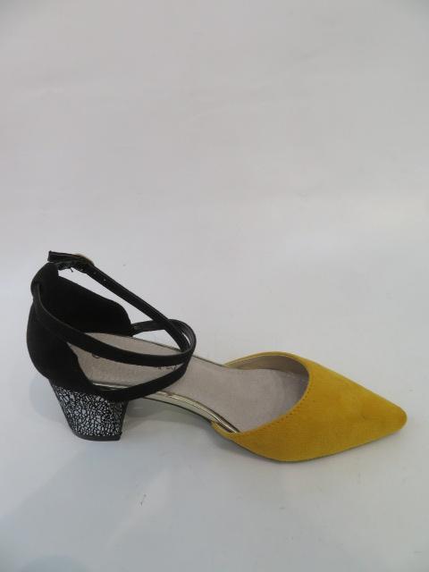 Czółenka Damskie FL-1001,Yellow, 36-40 2