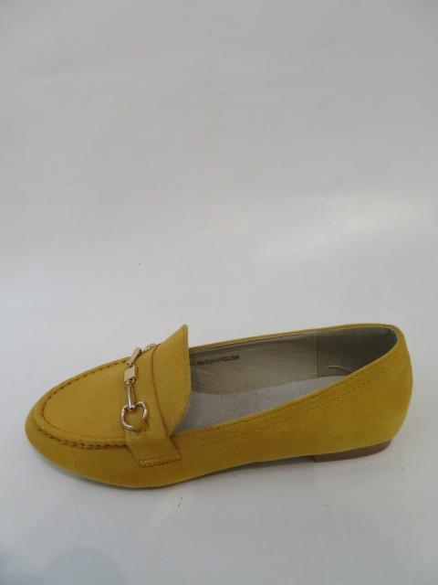 Mokasyny Damskie FL-611, Yellow, 36-40