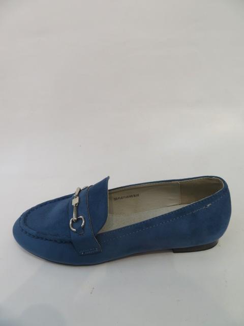 Mokasyny Damskie FL-611, Blue, 36-40