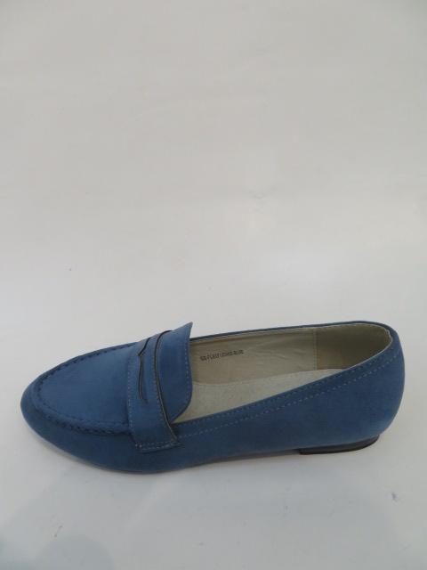 Mokasyny Damskie FL-637,Blue, 36-40