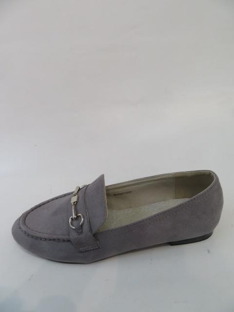 Mokasyny Damskie FL-611,Grey, 36-40