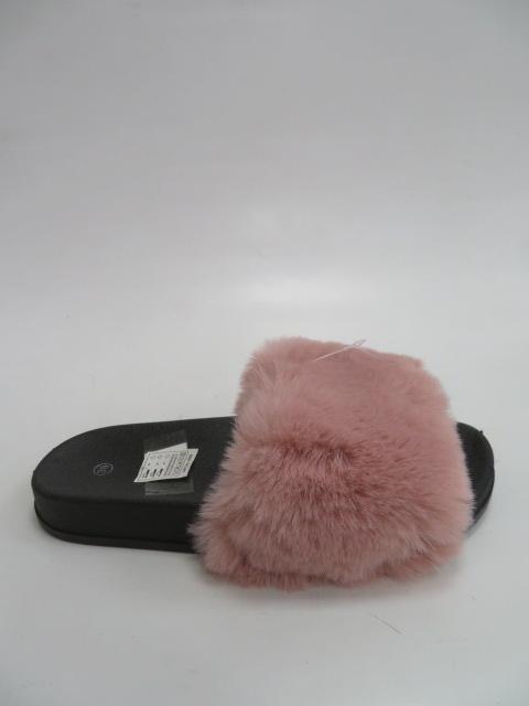 Kapcie Damskie DT5-B18,Pink/Black, 36-41