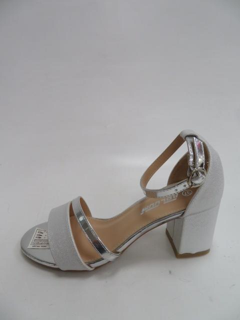 Czółenka Damskie A3076,Silver, 36-41