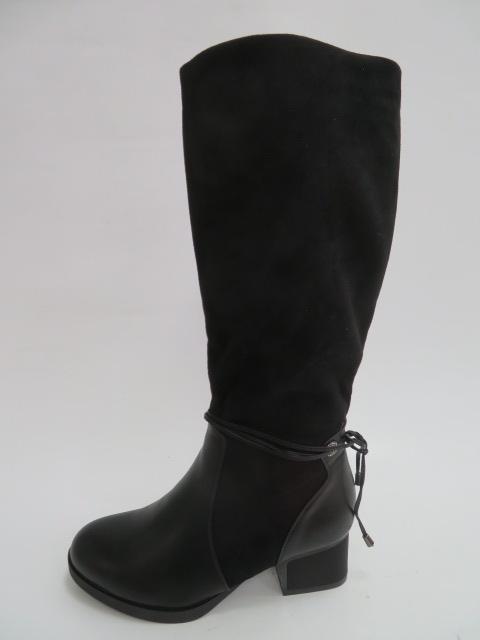 Kozaki Damskie X18029-3B, Black, 36-41