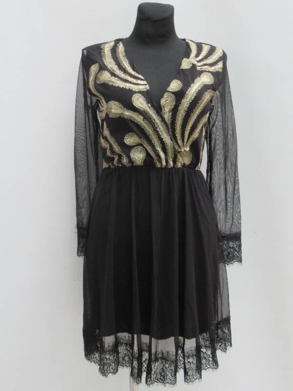 Sukienka Damska F5380 MIX KOLOR STANDARD ( Produkt Włoski )
