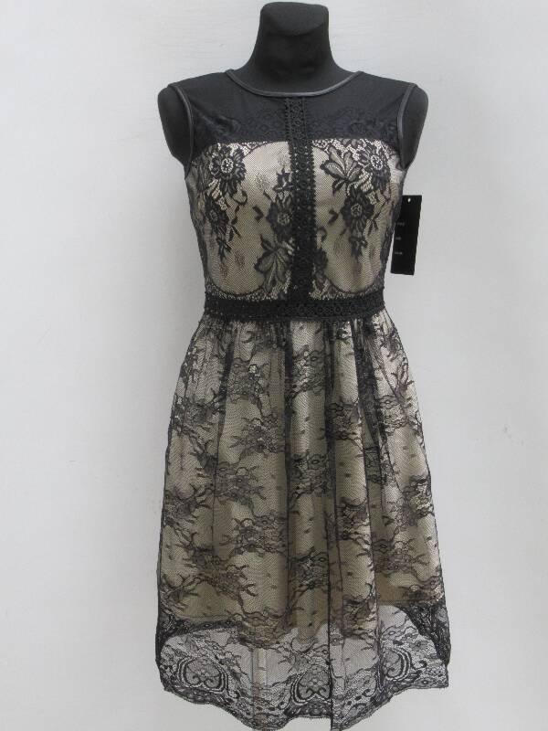 Sukienka Damska F5390 1 KOLOR S-L ( Produkt Włoski )